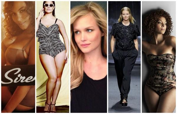 Полные модели покоряют мир моды