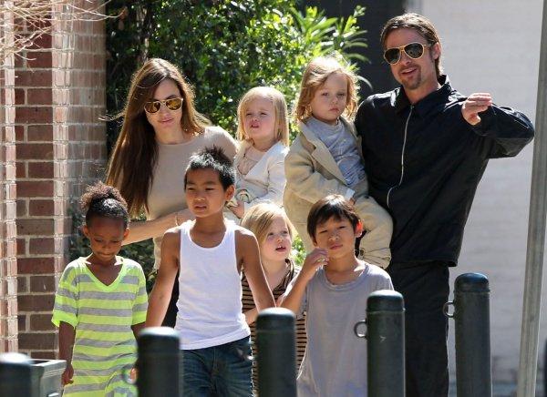 Воспитание шестерых детей утомляет Брэда Питта