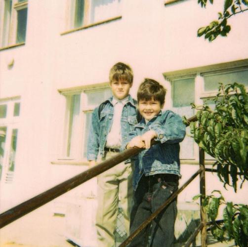 Фото Зианджи в детстве