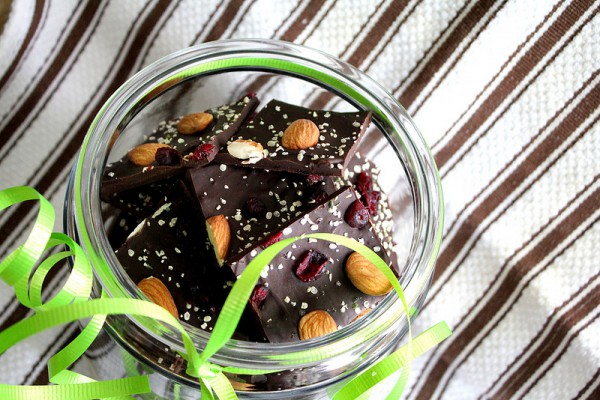 Домашний шоколад на Новый год