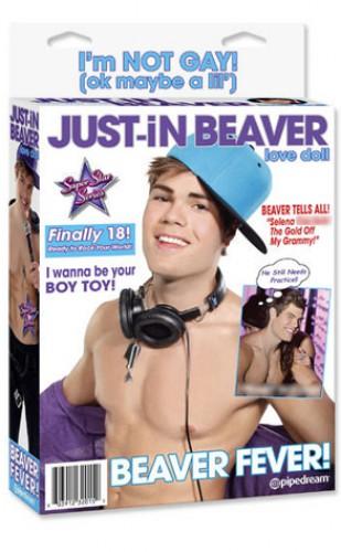 """Секс-кукла """"Джастин Бивер"""" теперь реализуется в секс-шопах"""