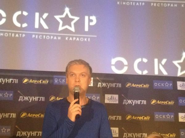 Брежнева о Светлакове на премьерном показе кинофильма, интервью
