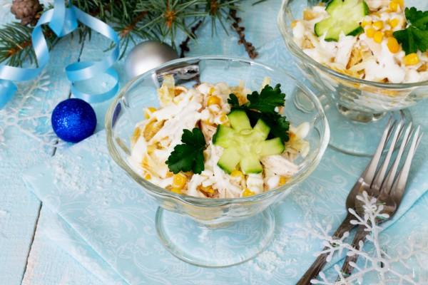 Салаты с пекинской капустой и ананасами рецепты простые и вкусные 66
