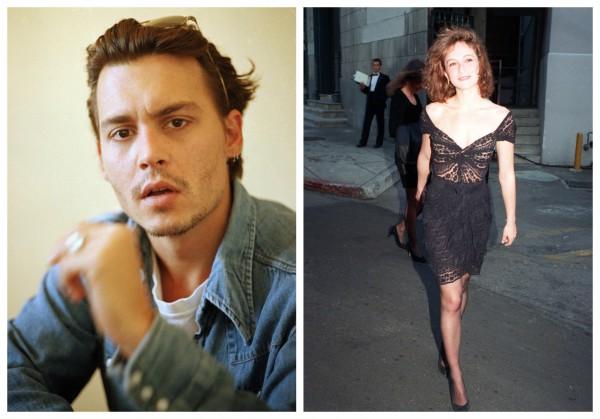 Джонни Депп расстался с Дженнифер Грей в 1989 году