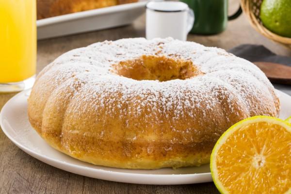 Кекс с апельсинами