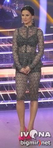 Маша Ефросинина надела платье
