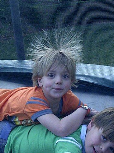 Волосы дыбом у ребенка - 84