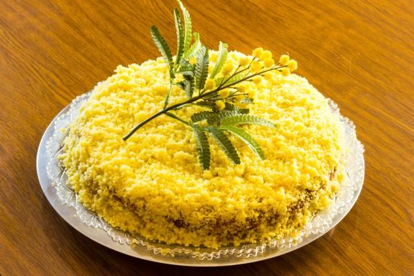 Торт Мимоза на 8 марта