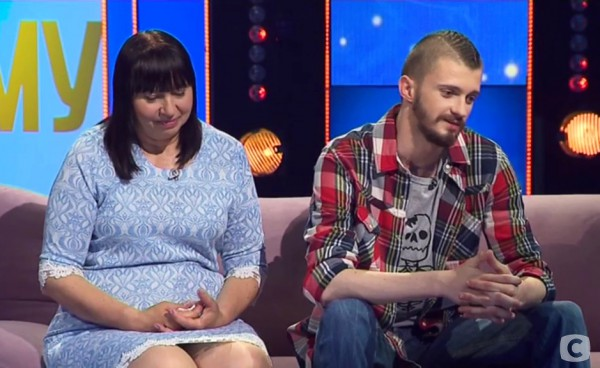 Игорь Галушка с матерью