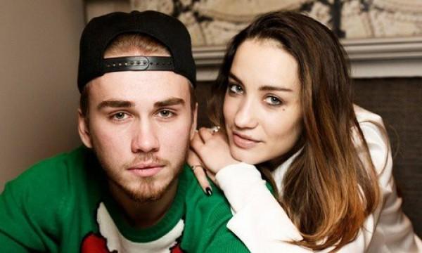 Виктория Дайнеко со своим возлюбленным Дмитрием Клейманом