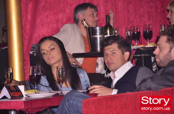 Андрей Джеджула с девушкой Инной