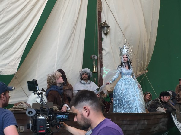 Фото со съемок фильма с Lama