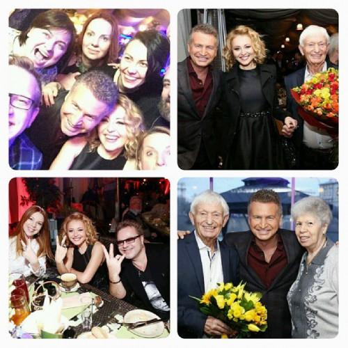 На днях отец Леонида Агутина отметил свой 80-й день рождения