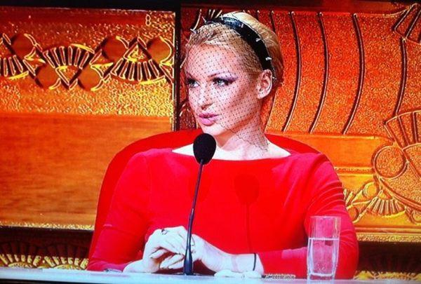 Анастасия Волочкова в таком образе появилась на шоу Танцы со звездами