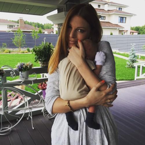 Наталья Подольская с сыном Артемом