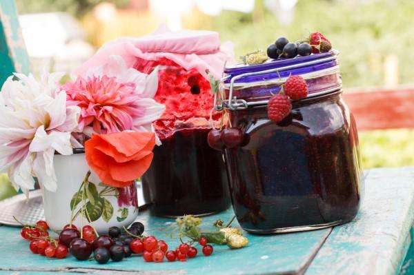 Варенье из летних ягод