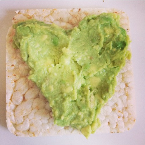Рисовый хлебец с авокадо