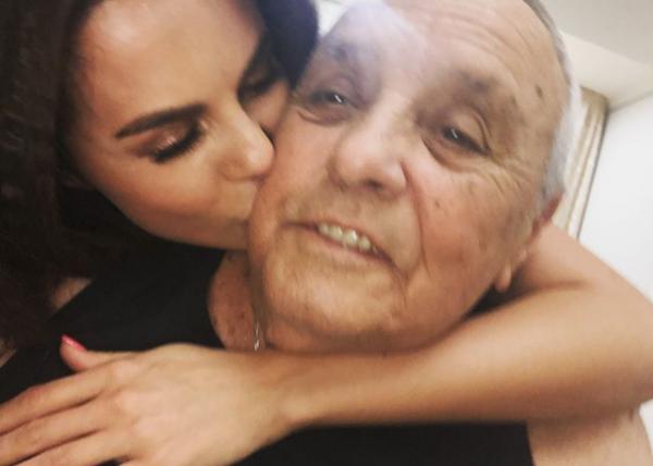 Настя Каменских и её отец фото