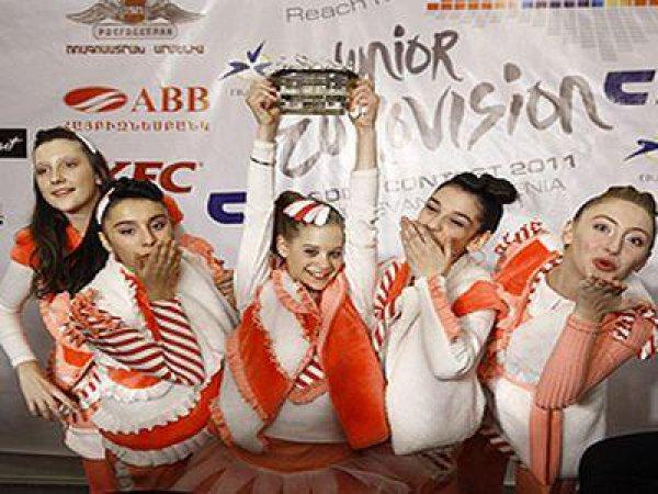 Победитель Евровидения – 2011 – группа Candy из Грузии
