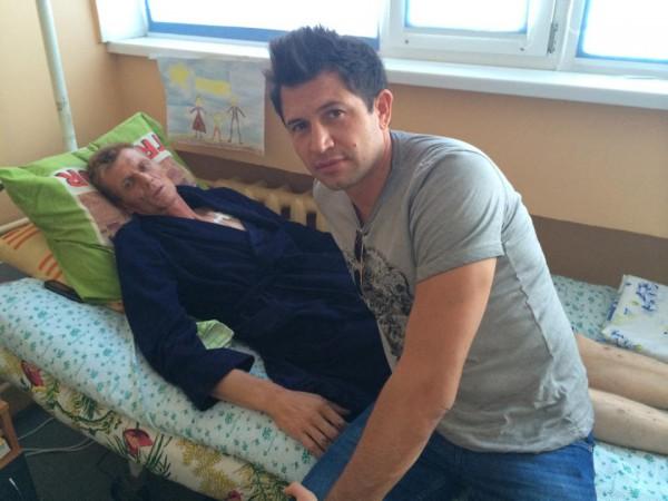 Джеджула навестил своего брата Юрия в больнице