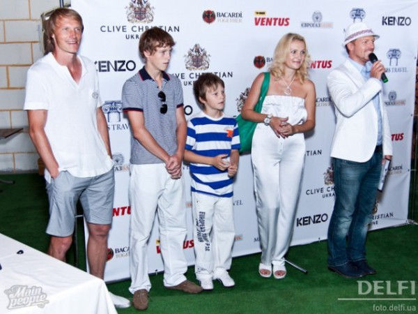 Семейные фото Андрея Гусина