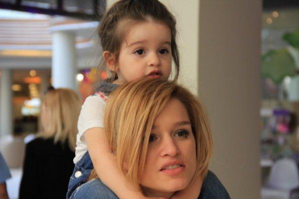 Ксения Бородина хочет, чтобы ее дочь занималась спортом