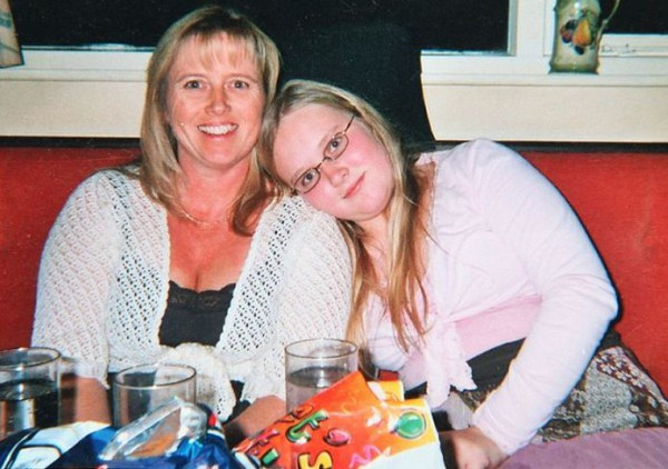 Эмма с мамой