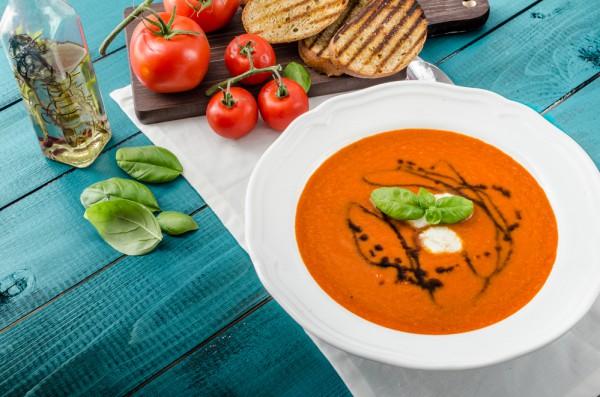 Томатный летний суп