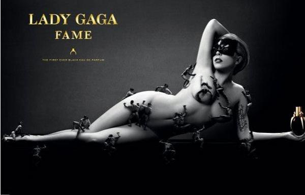 Lady Gaga  в рекламе своих духов Fame