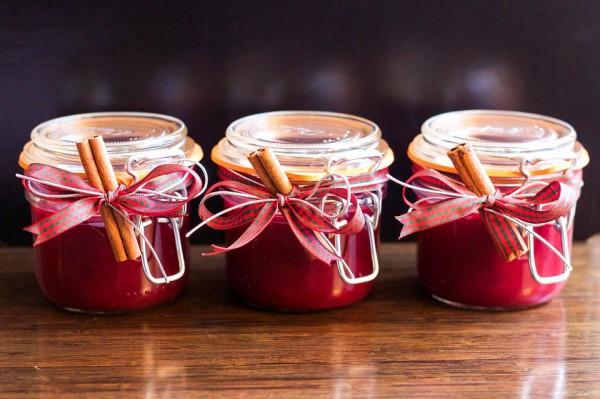 Клюквенный соус чаще всего подают к индейке в День благодарения