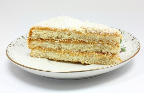 Рецепт                  Простой торт с кремом из сгущенки