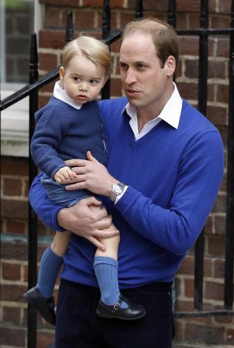 Принц Уильям признался, что его сын Джордж растет активным мальчиком