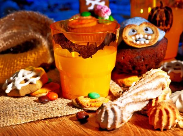 Бокалы на Хэллоуин