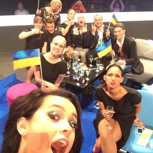 Евровидение 2014: Мария Яремчук представила Украину