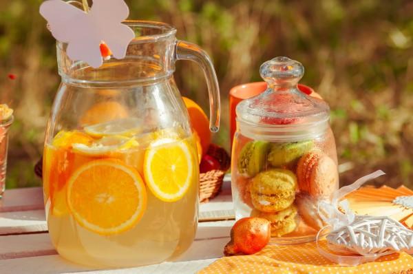 Лимонад с апельсинами