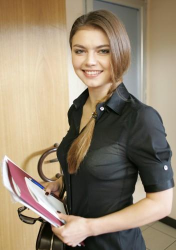 Российская спортсменка Алина Кабаева
