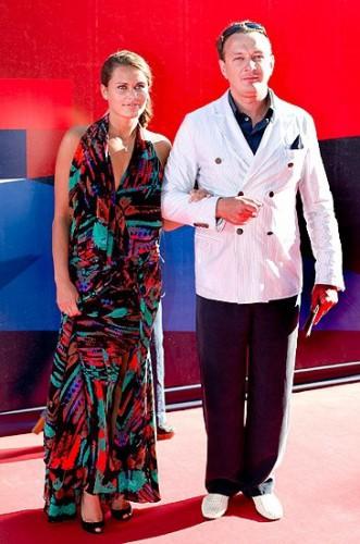 Марат Башаров вышел в свет с возлюбленной Анной