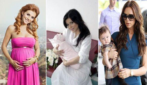 красивы вотки молодых мам