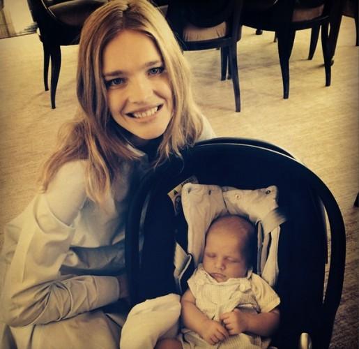 В Сети появилось новое фото с сыном Натальи Водяновой