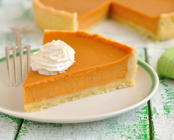 Сладкий тыквенный пирог