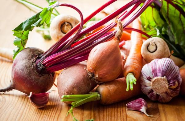 В сентябре появляется много полезных овощей