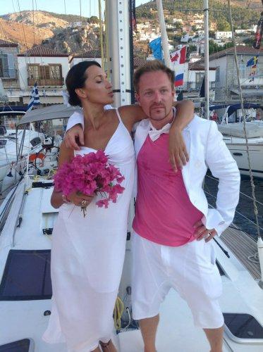 Свадьба Игоря Посыпайко состоялась прямо во время парусной регаты