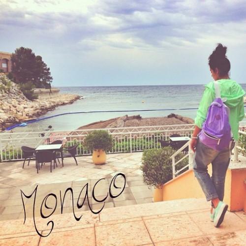 Настя Каменских в Монако