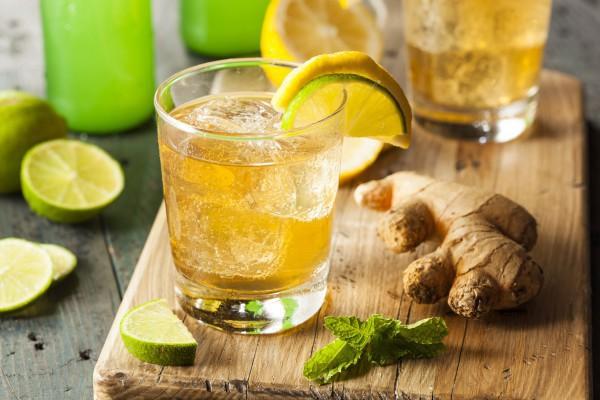 Имбирь чаще всего добавляют в лимонады и чай