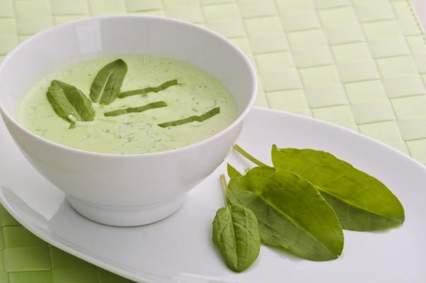 Рецепт                  Щавелевый крем-суп