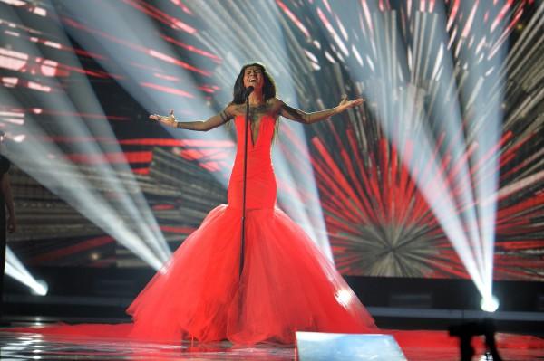 Евровидение 2015: Выступление Аминаты Савадого (Латвия) во втором полуфинале