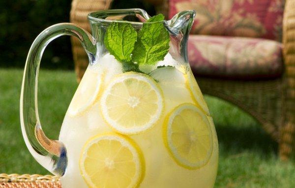 рецепт лимонада из лимона