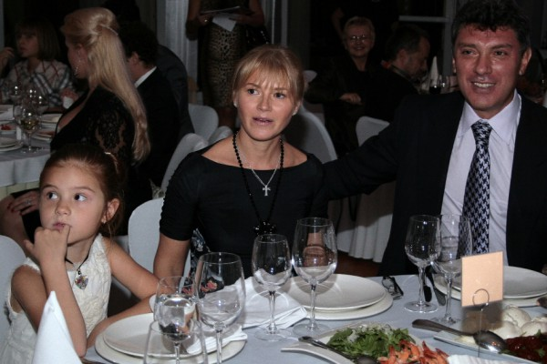 Ирина Королева с Немцовым