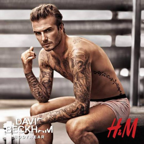 Дэвид Бекхэм представил новую коллекцию белья для H&M