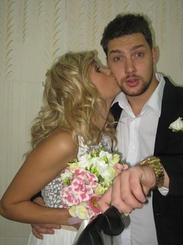 Олег Кензов с женой Настей
